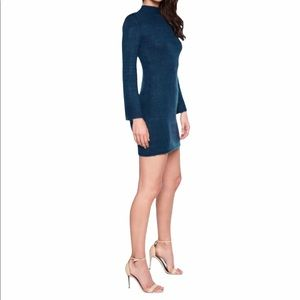 Bardot tash sweater dress in ash blue size 10 new